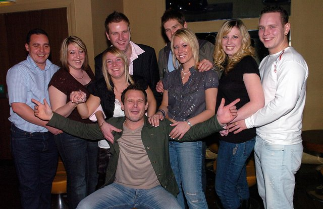 This is what a night out at Tiger Tiger in Gunwharf Quays looked like in the 00s.