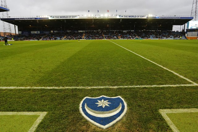 The North Stand, as pictured in December 2015, has been identified as crucial to Tornante's Fratton Park vision. Picture: Joe Pepler