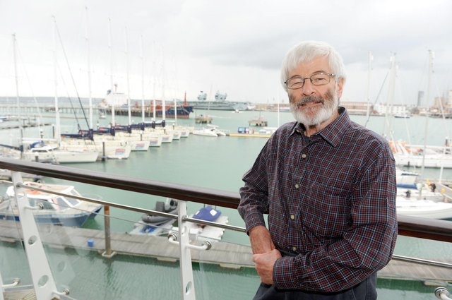 Peter Cardy, chief executive of Gosport Marine Scene from 2013-2018, is to be made a OBE for his services to the community in Gosport Picture: Sarah Standing (091020-5302)