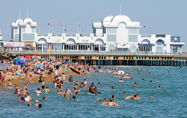It will be very warm in Portsmouth today. Picture: Sarah Standing (250620-5015)