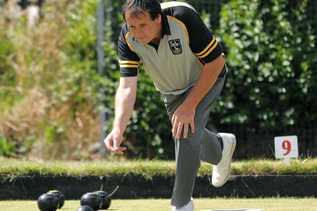 The Priory rink skipped by Martin Eggleton recorded a big win against College Park as the Portsmouth & District Bowls League resumed after an absence of more than a year. Picture: Mick Young