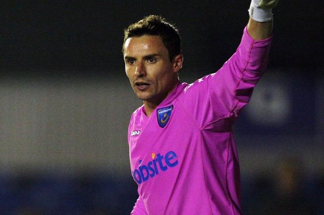 Darryl Flahavan in action for Pompey reserves. Picture: Joe Pepler.