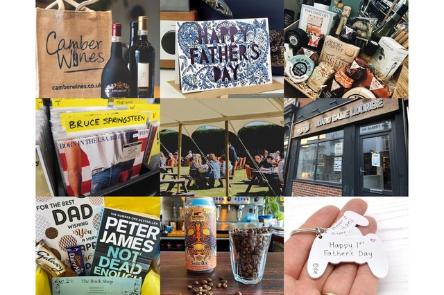 There are some great local businesses selling unique gifts for Father's Day.