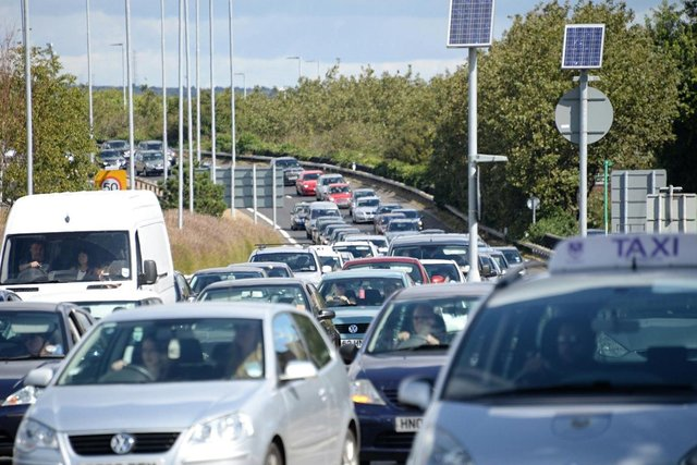Traffic jams are back with a vengeance. Picture: Paul Jacobs