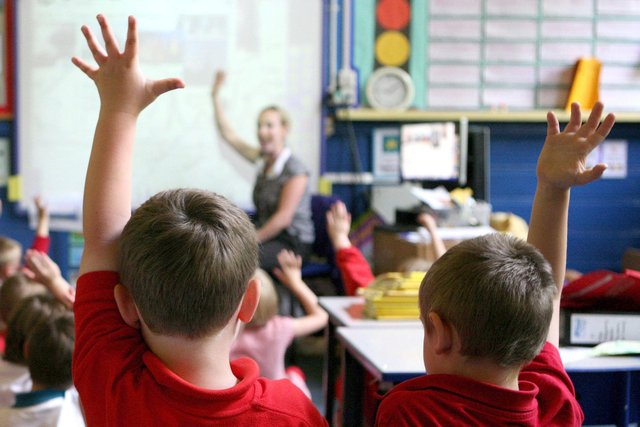 Now is your chance to say a big, public thank you to a teacher you appreciate. Stock Picture: PA/Dave Thompson