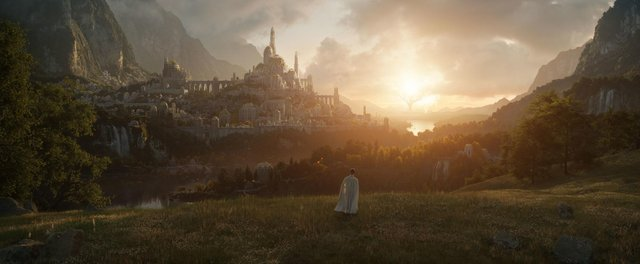 First image from the unnamed Lord of the Rings series which will debut in September 2022. Picture: Amazon Studios/PA Wire