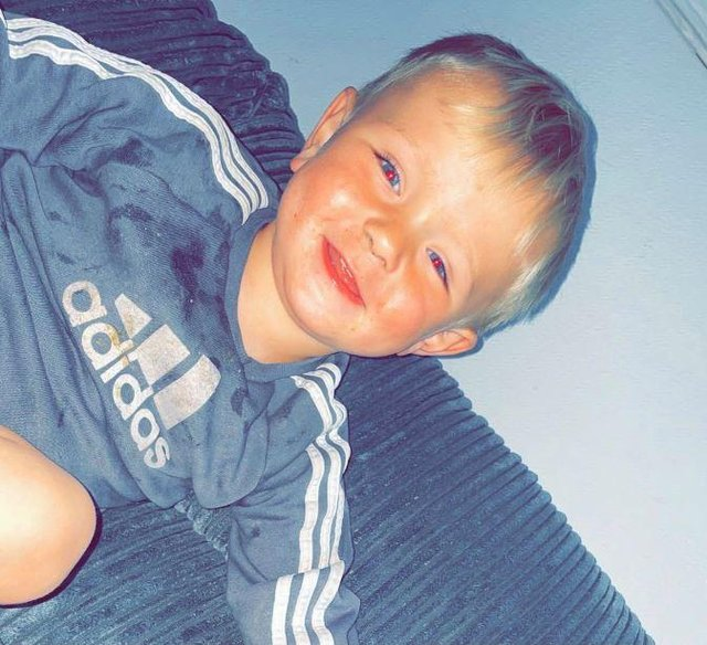 Greyson Birch, two, died on Thursday after being found unresponsive in a lake in Swanwick. Photo: Hampshire police