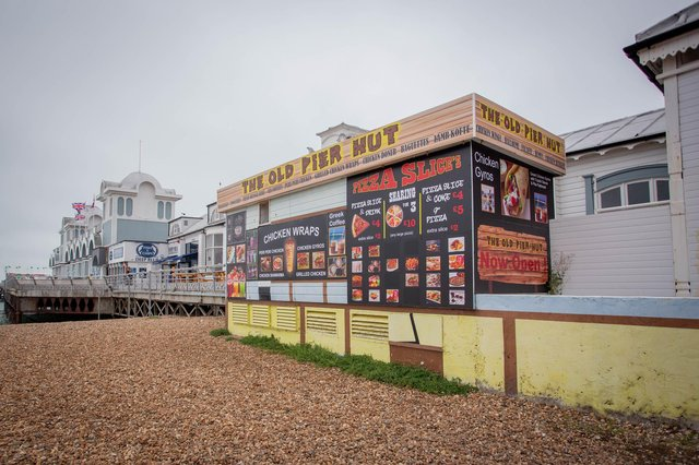 The Old Pier Hut at South Parade Pier was granted a licence to sell alcohol.  Picture: Habibur Rahman