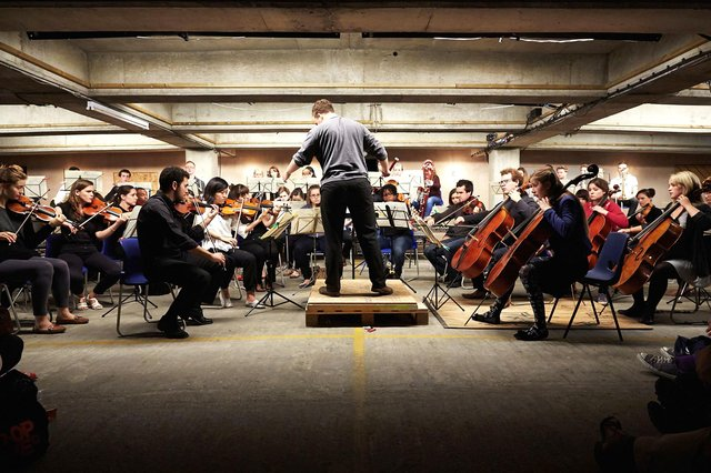 The Multi-Story Orchestra were due to perform in Isambard Kingdom Brunel Car Park last year but ithe event was cancelled