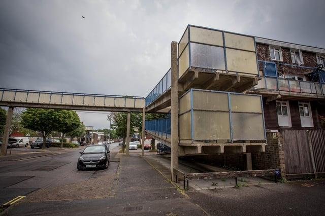 GV of Seymour Close, Buckland, Portsmouth on Thursday 11 June 2020.Picture: Habibur Rahman