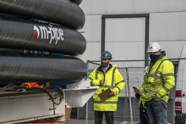 Magma Global, fabricante de Portsmouth, suministra un tubo compuesto de emergencia para prevenir futuros desastres ambientales en el Golfo de México