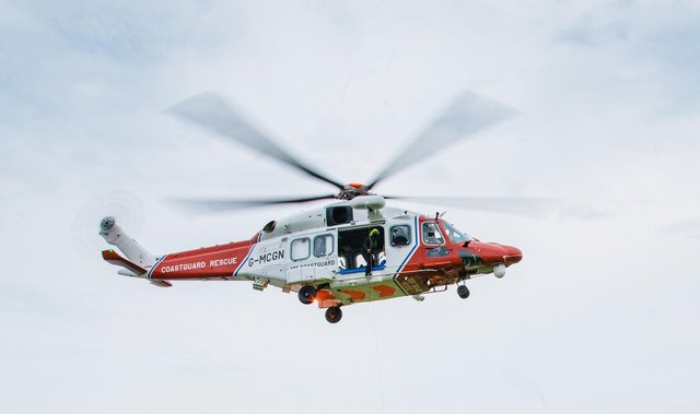 Coastguard at Lee-on-Solent. Picture: Maritime and Coastguard Agency