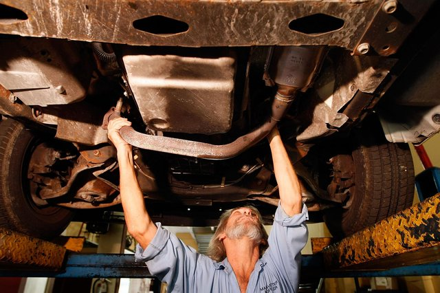 Catalytic converters have become a hot commodity. Picture: Getty Images