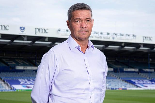 Pompey chief executive Mark Catlin.  Picture: Habibur Rahman