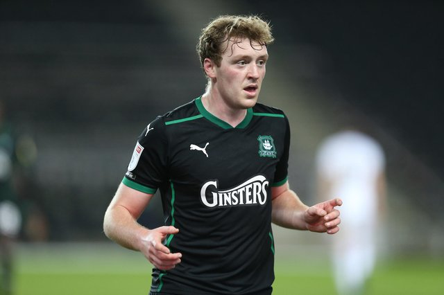 Plymouth front man Luke Jephcott.  Picture: Pete Norton/Getty Images