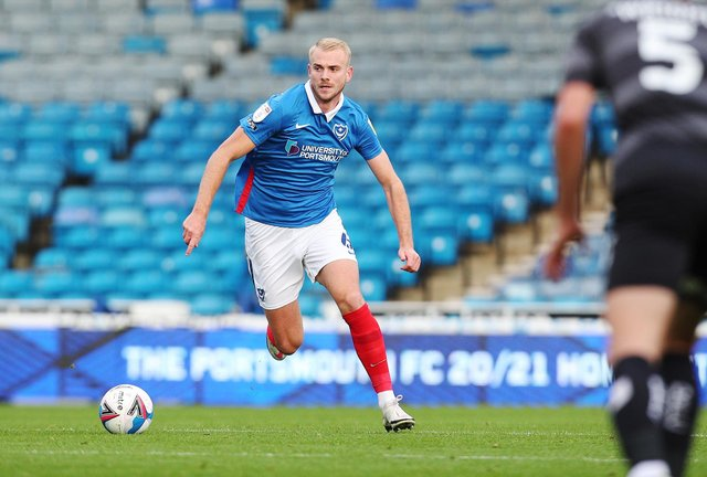 Jack Whatmough is among four Pompey players who have been offered new deals. Picture: Joe Pepler