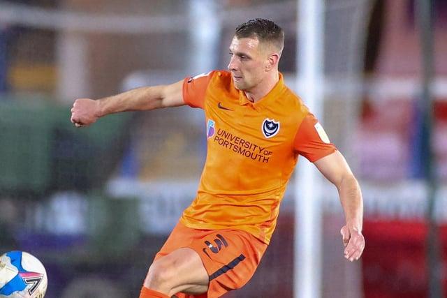 Lee Brown in action against Peterborough. Picture: Nigel Keene