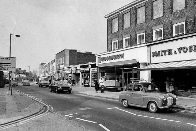 West Street, Havant 1974. Picture: The News 3026-4