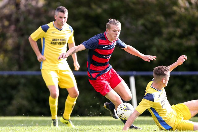 New Horndean signing Zak Willett is in line to feature in the Hawks friendly. Picture: Chris Moorhouse   (041020-45)