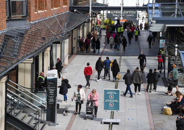 Gunwharf Quays. Picture: Finnbarr Webster/Getty Images