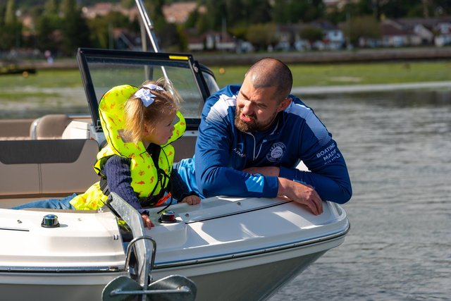 All the family can get out on the water with Freedom Boat Club