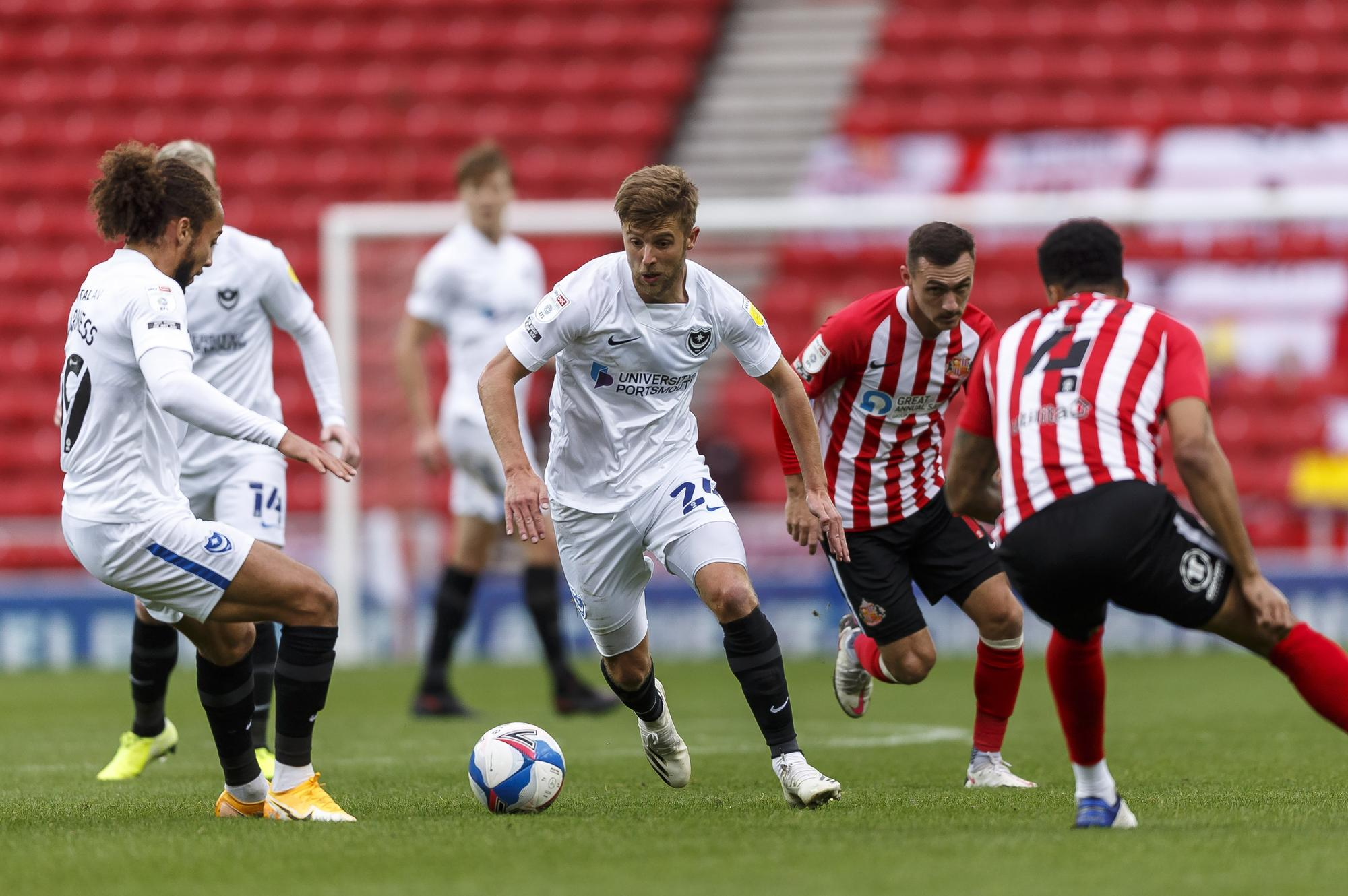 Portsmouth blow as Michael Jacobs to have scan on knee injury suffered in Sunderland win