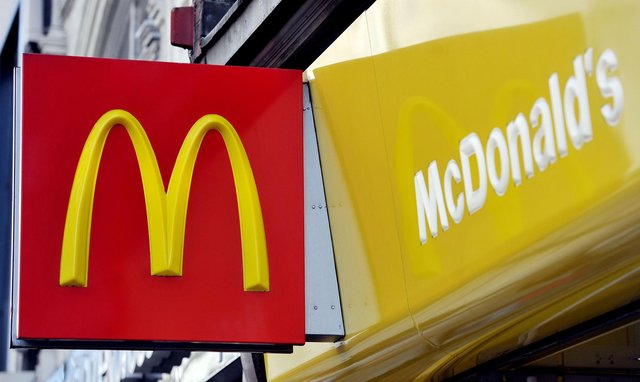 A McDonald's sign. Picture: Nick Ansell/PA Wire