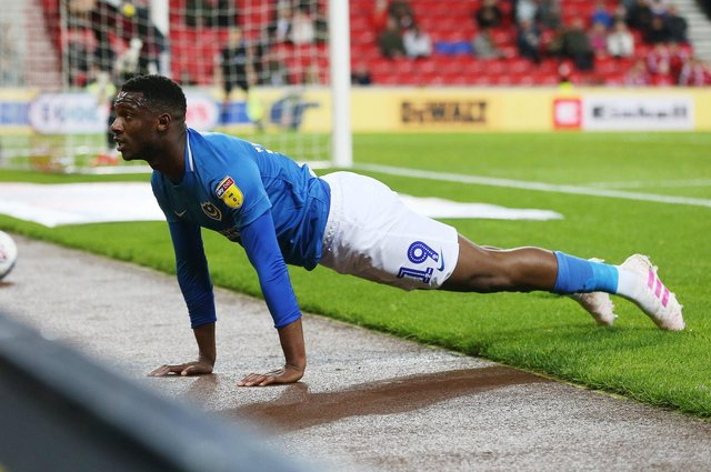 Former Pompey winger Viv Solomon-Otabor is reportedly wanted by new Blues head coach Danny Cowley