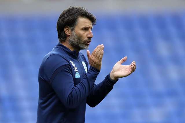 Danny Cowley is set to become Pompey's next boss. Picture: Naomi Baker