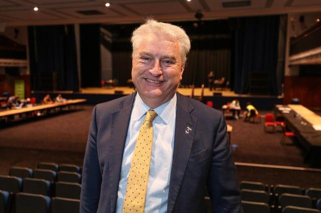 Councillor Gerald Vernon-Jackson  Picture: Stuart Martin (220421-7042)