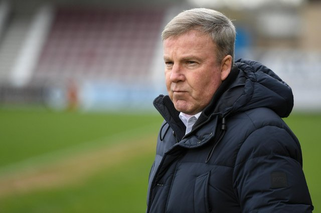 Gaffer for the Day, Martin Fish, from Brighton, believes Milan Mandaric and Iain McInnes would have already resolved the future of Kenny Jackett. Picture: Dennis Goodwin/ProSportsImages