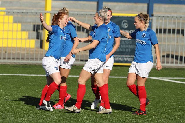 Pompey Women return to action this weekend for the first time since December 12, aiming to extend their 100 per cent seasonal record at Westleigh Park in the FA Cup against Cheltenham. Photo by Dave Haines.