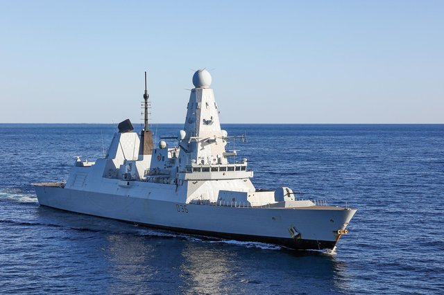 A library photo of HMS Defender on operations. Photo: LPhot Rory Arnold/Royal Navy