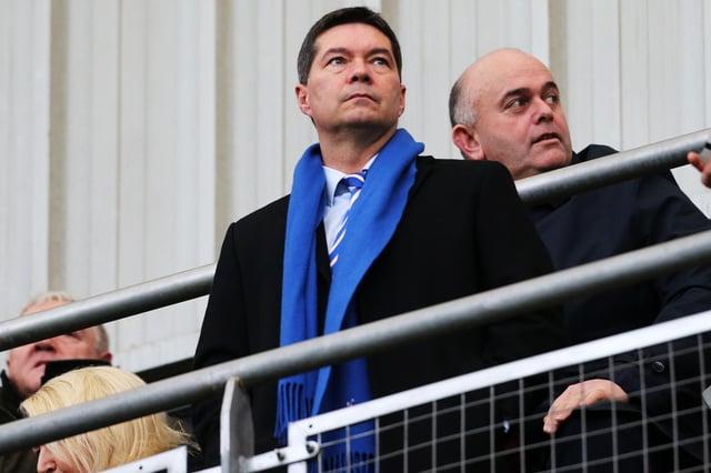 Pompey chief executive Mark Catlin