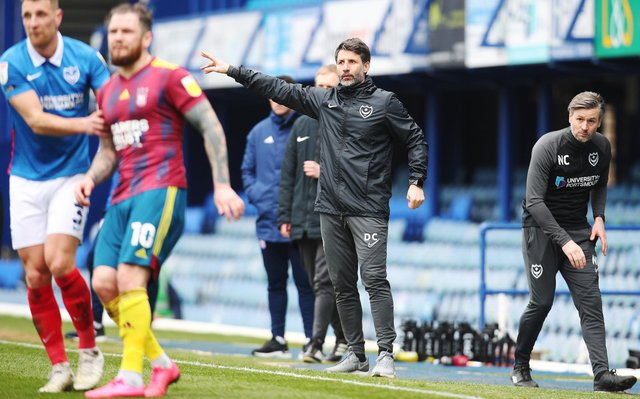 Danny Cowley has been handed the title of 'head coach' at Fratton Park - with the club moving away from the conventional 'manager' name. Picture: Joe Pepler