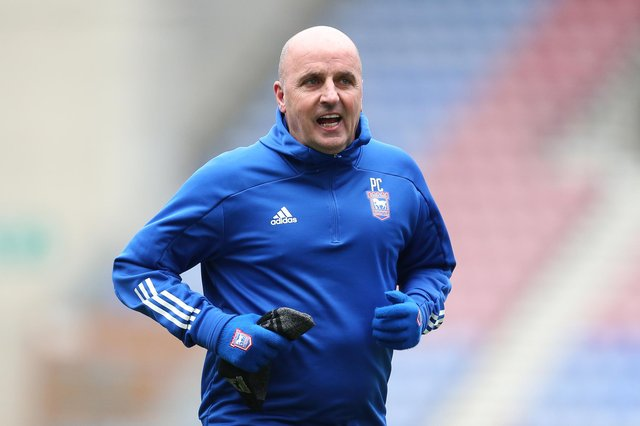 Ipswich boss Paul Cook.  Picture: Lewis Storey/Getty Images