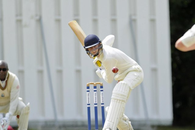 Hambledon's Chris Pratt struck 46 in the win over Portsmouth & Southsea. Picture Ian Hargreaves (260720-9)