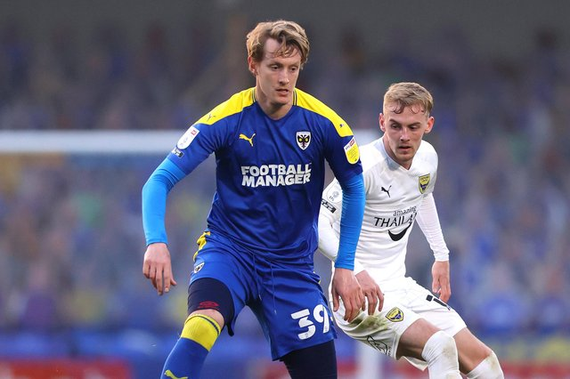 Pompey target Joe Pigott has been also interesting Championship clubs Bristol City and Luton, plus Sunderland. Picture: James Chance/Getty Images