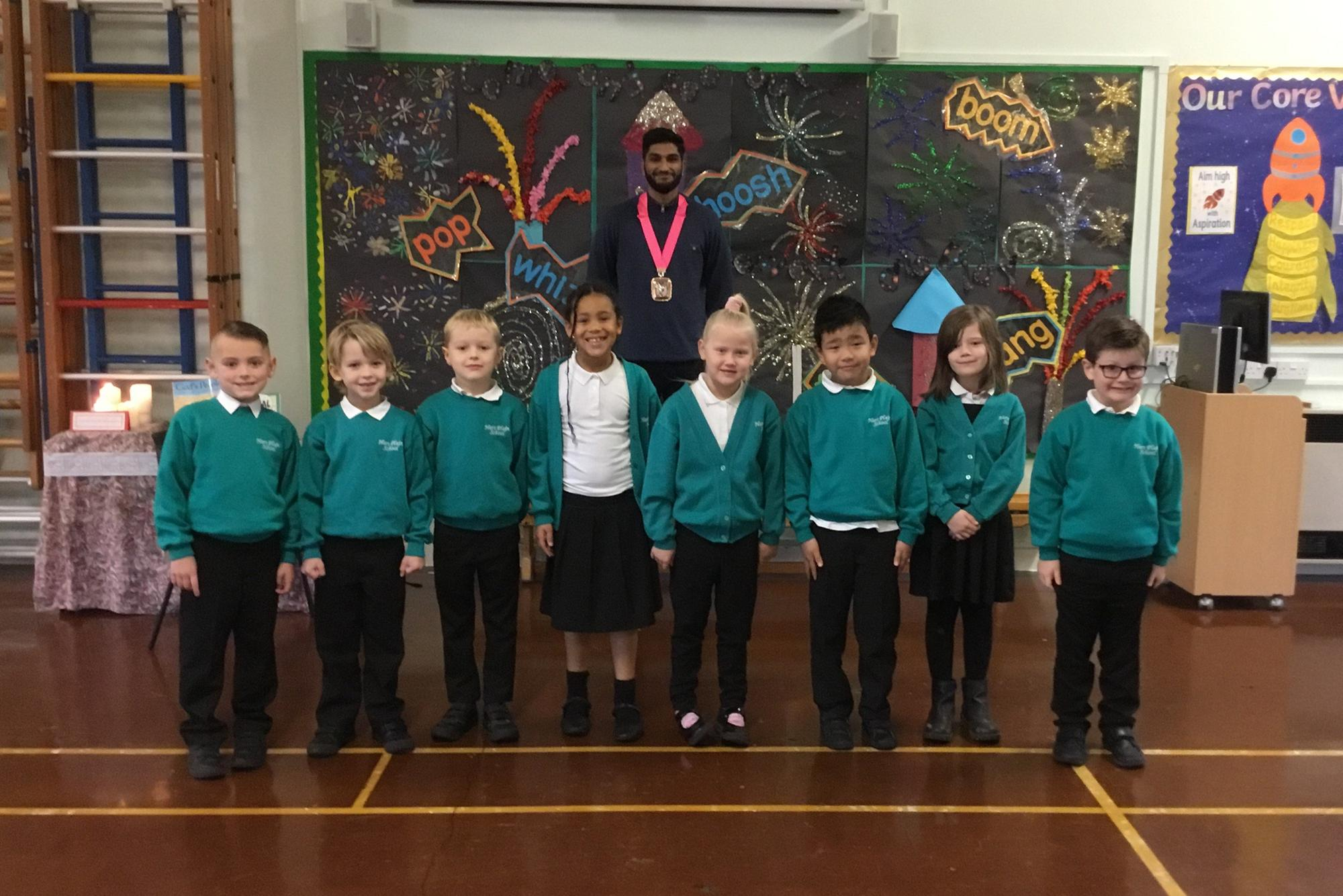 Pupils visited by mayor to discuss equality and diversity during school's Black Lives Matter week