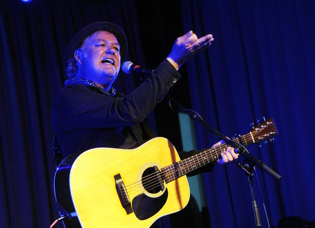 Levellers frontman Mark Chadwick playing a solo gig at The Gaiety, Southsea, on June 17, 2021. Picture by Paul Windsor