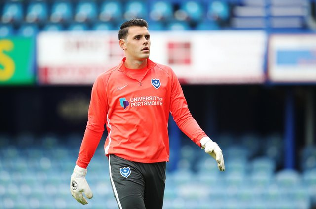 Duncan Turnbull was Pompey's third-choice keeper last season - and it's a Fratton Park vacancy which remains. Picture: Joe Pepler