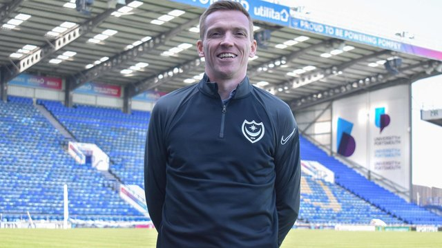 New Pompey Academy boss Greg Miller.  Picture: Portsmouth FC