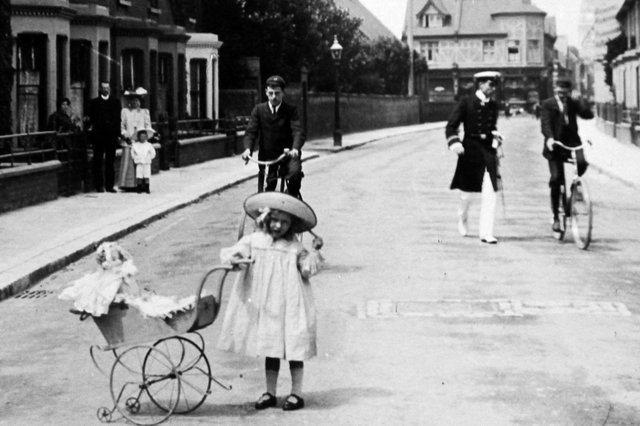 Fraser Road, Southsea, 1910. Picture: Barry Cox collection