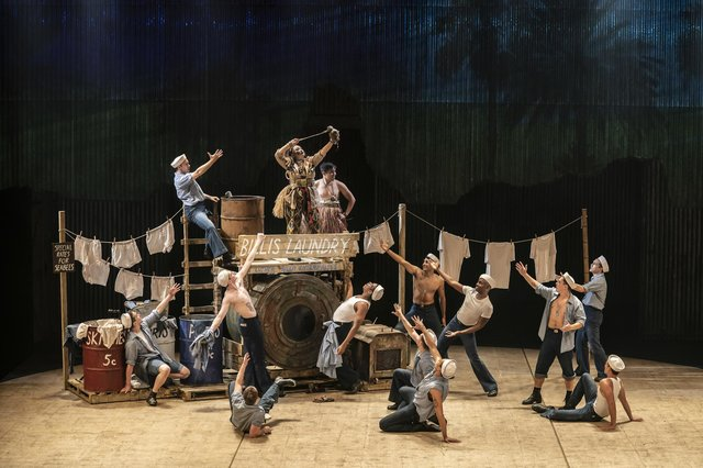 The company of South Pacific at Chichester Festival Theatre, summer 2021. Picture by Johan Persson