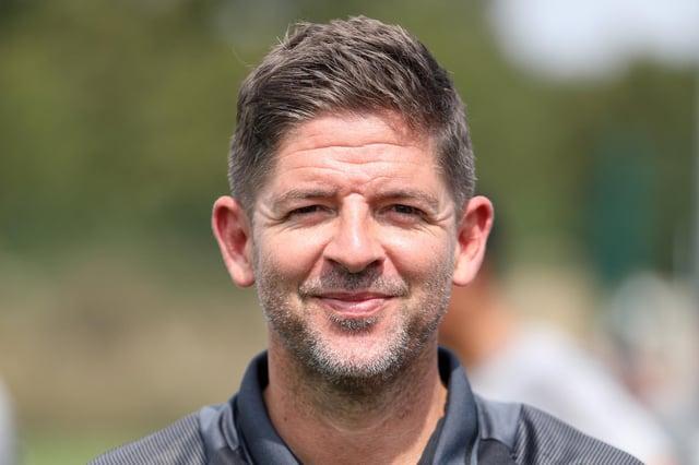 Hayling United boss Dan Bishop. Picture: Chris Moorhouse