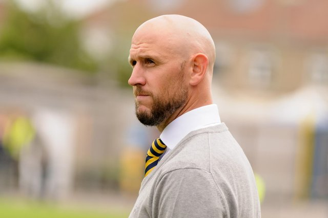 Former Gosport Borough boss Lee Molyneaux has signed for Baffins Milton Rovers purely as a player. Picture: Duncan Shepherd