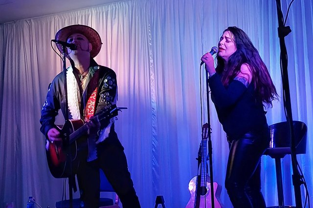 Paul-Ronney Angel and Tomi Rae Brown at Best Western Royal Beach Hotel, Southsea on June 5, 2021. Picture by Chris Broom