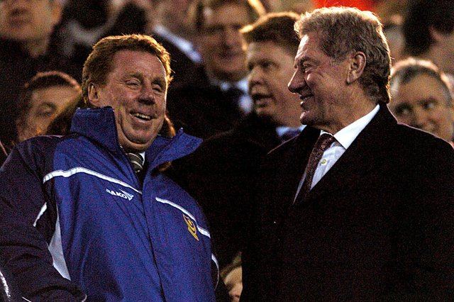 Milan Mandaric, right, appointed Harry Redknapp as Pompey director of football in 2001