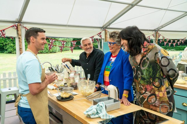 Dave Friday from Waterlooville is taking part in The Great British Bake Off.Picture: Love Productions