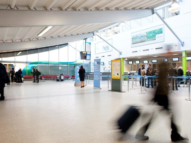 Southampton Airport is continuing to run flights abroad after the government updated its travel traffic light list.
